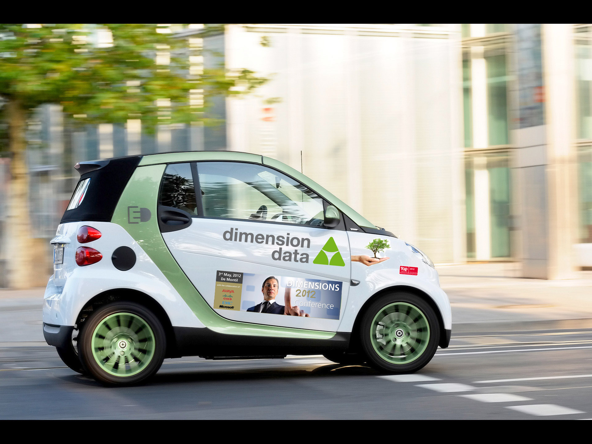 Dimension Data - Smart Fortwo Electric Drive